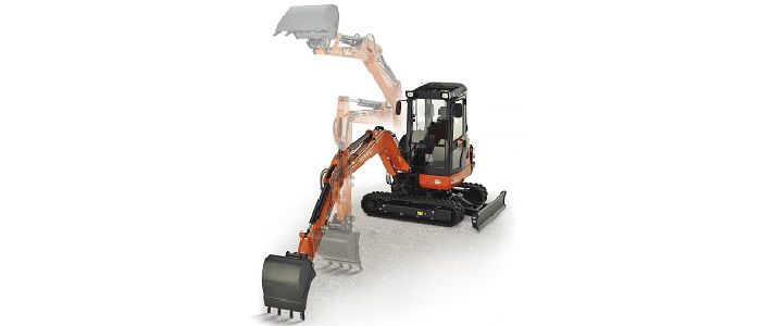 Kubota KX080-4 Alpha 2 PC | 4 functies