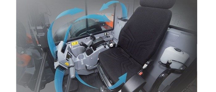 KX080-4a cabine