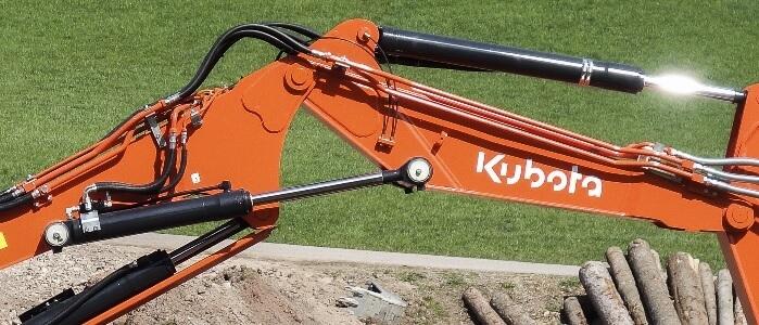 Gelede Giek Kubota KX080-4 Alpha