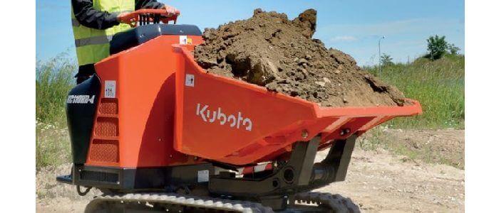 Kubota KC110 laadcapaciteit