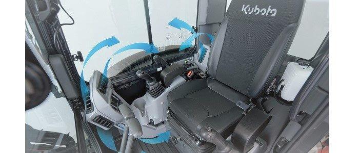 Kubota KX042-4 cabine