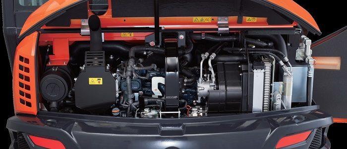 Kubota KX080-4 Alpha motor