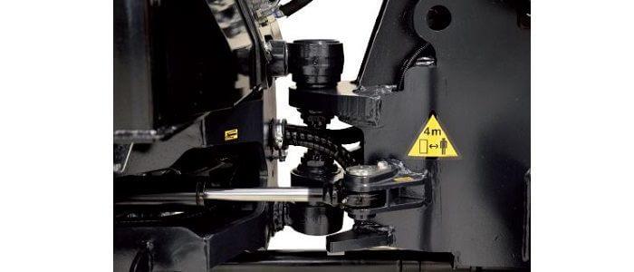 Kubota RT270 chassis