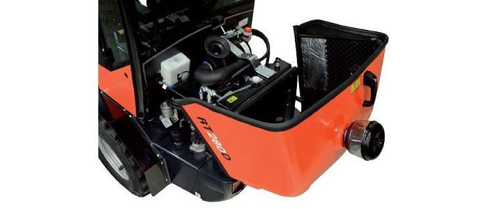 RT280 motorkap